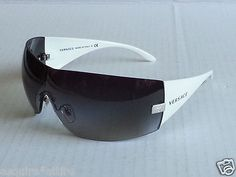 bb13294a4b3  sunglasses for sale  Versace women shield style sunglasses MOD.2054 made  in Italy