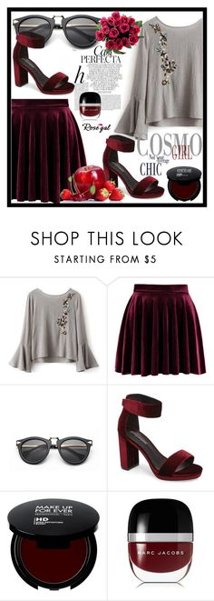 """""""Rosegal fashion set"""" by erina-salkic ❤ liked on Polyvore featuring Whiteley, Jeffrey Campbell, Marc Jacobs, fashionset, freeshipping and rosegal"""