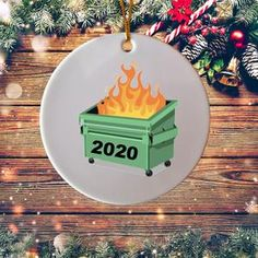 2020 Funny 6 Feet Christmas Quarantined 2020 Christmas | Etsy Office Ornaments, Wood Ornaments, Personalized Christmas Ornaments, Friends Tv Show Gifts, Graduation Gifts For Friends, Amazon Christmas, Dumpster Fire, Rainy Day Activities, Christmas Humor