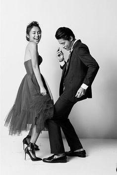 KathNiel on the cover of YES! 100 Most Beautiful Stars Daniel Padilla, Kathryn Bernardo, Partner Dance, Couple Shoot, Mom And Dad, Couple Goals, Supermodels, Fashion Models, Dj