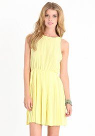 Trespassing Pleats Dress, love it, just not crazy about the color.