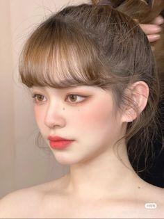 Cute Makeup, Beauty Makeup, Hair Makeup, Hair Beauty, Asian Makeup Looks, Senior Picture Makeup, Hair Reference, Aesthetic Makeup, Ulzzang Girl