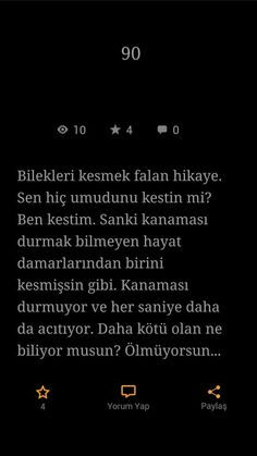 Ne kahpesin ve hayat 😭😭😭 Sad Quotes, Book Quotes, Inspirational Quotes, Good Sentences, Insta Story, Meaningful Words, Instagram Story, Cool Words, Quotations