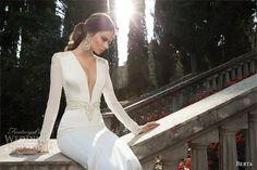 Berta Bridal Winter 2014 — Long Sleeve Wedding Dresses   Wedding Inspirasi