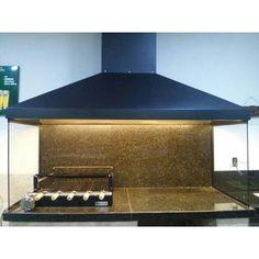 coifa de churrasqueira inox - Pesquisa Google