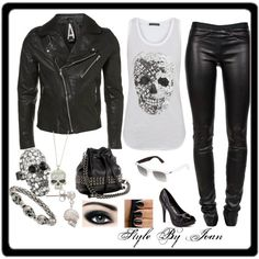 Rock Style, created by joan-torres on Polyvore