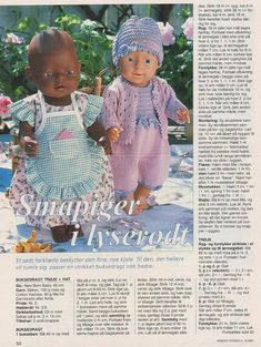 View album on Yandex. Knitting Dolls Clothes, Knitted Dolls, Doll Clothes Patterns, Doll Patterns, Knitting Patterns Free, Baby Knitting, Girl Dolls, Baby Dolls, Baby Born Clothes