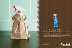 household cleaning products lay off the hard stuff