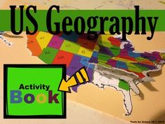"""""""Where's that?"""" Teachers, it's time to let geography take center stage in your classroom. Build students' geographic  understanding of their country, region, state and even county using this fantastic layered approach to learning! With this activity book, students will have the experience of creating a hands-on visual project."""