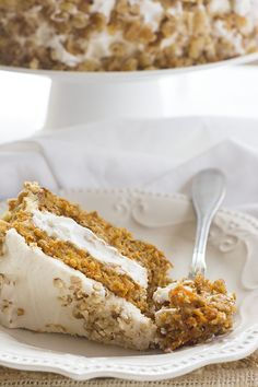 FRETTING ABOUT THE HOLIDAYS? CARROT CAKE RECIPE–IT'S VEGAN AND GLUTEN-FREE. // Vegan, Gluten-Free Carrot Cake