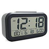 JCC Automatic Night Glow Smart Light-activated Sensor Bedside Digital Snooze Alarm Clock with Date and Temperature Display (Black) by JCC   1 day in the top 100  (160)Buy new:  £17.99  £7.99 (Visit the Bestsellers in Home & Garden list for authoritative information on this product's current rank.) Amazon.co.uk: Bestsellers in Home & Garden...