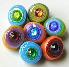 Lampwork beads - this a dream of mine to make beads , maybe when the nest is empty ~ T
