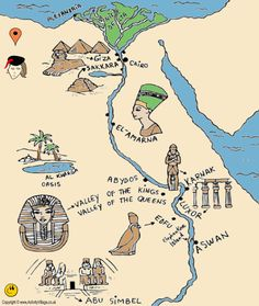 Interactive Map Of Ancient Egypt Metro Map - Egypt interactive map