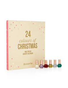 Nail-polish–lovers rejoice! If changing up your nail colour on daily basis is normal for you, then this calendar is a must-have. It includes classic reds and pinks and also comes with metallic and glitter shades for those of you who like to make a statement with your nails.