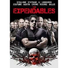 The Expendables - Sylvester Stallone, Jason Statham, Jet Li | Sylvester Stallone stars as Barney Ross, leader of The Expendables, a tight-knit team of skilled combat vets turned mercenaries. Hired by a powerful covert operator, the team jets off to a small South American country to overthrow a ruthless dictator. Once there, they find themselves caught in a deadly web of deceit and betrayal. Using every weapon at their disposal, they set out to save the innocent. Click on image to see more...