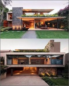 Modern house design - An Atmospheric Approach To Modernist Architecture In Mexico – Modern house design Contemporary Architecture, Interior Architecture, Modern Interior, Contemporary Houses, Contemporary Design, Architecture House Design, Big Modern Houses, Interior Office, Architecture Plan