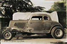 Portrait Hot Rod Hayride - Carl's Ford 34 gasser