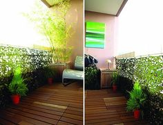 Look! Small Camouflaged Balcony