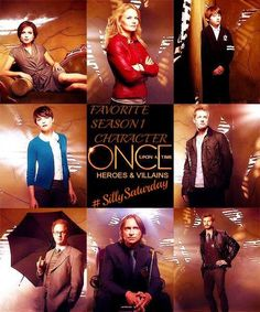The awesome cast of Once on an awesome Once poster