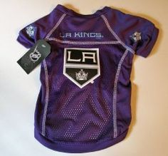 Los Angeles Kings Dog Jersey