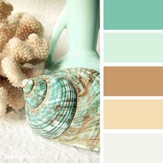Coastal palette for outdated master bath?