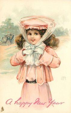 Ellen Jessie Andrews - English - (1858-1907) Raphael Tuck Art series 6731 vintage postcard 1907
