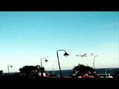 Airbus A330 erschreckt argentinische Badegäste