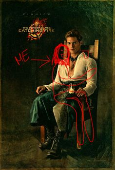 I have been team FINNICK since I first read catching fire! And sam claflin makes him even better!