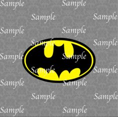 Bat Symbol SVG, DXF, EPS, PNG Digital File – Wickedly Cute Designs