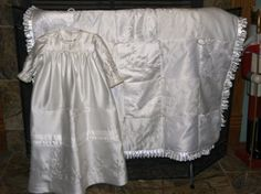 Christening Gown and Blanket