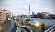 Thames River Park design