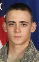 Pvt. 1st Class Ryan J. Larson. 1-5 Infantry Regiment, 1st Stryker Brigade Combat Team, 25th Infantry Division of Fort Wainwright, Alaska. PFC Larson was 19 years old and from Friendship, Wisconsin. He died on June 15, 2011 when attacked with an IED in Kandahar, Afghanistan.