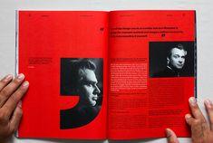 Leap of Faith – Magazine on Editorial Design Served Page Layout Design, Web Design, Print Design, Editorial Layout, Editorial Design, Graphic Design Posters, Graphic Design Inspiration, Magazine Page Design, Magazine Layouts
