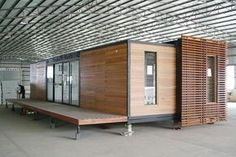 Prefab shipping container home