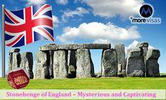 #Stonehenge of #England - Mysterious and Captivating... #UK #touristvisa    https://www.morevisas.com/uk-immigration/stonehenge-of-england-mysterious-and-captivating/