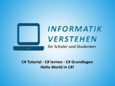Ein Hello World!, auch bekannt als Hallo Welt!, wird traditionell verwendet, um Anfänger in eine Programmiersprache, zum Beispiel C#, einzuführen. Bevor man nun aber anfängt die C# Grundlagen zu erlernen, sollte zuerst ein Blick auf eine absolut minimale C#-Programmstruktur geworfen werden, damit sie als Referenz in den kommenden Kapiteln genommen werden kann.