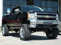 Lifted Chevy Silverado (My top choice)