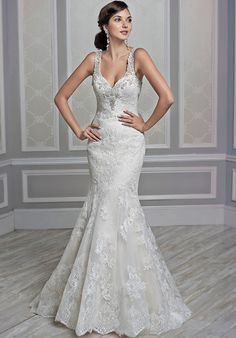 Kenneth Winston 1605 Wedding Dress - The Knot