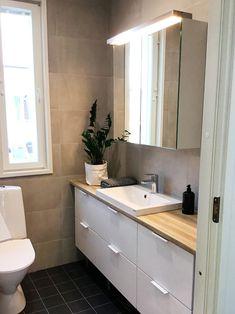 AINA-keittiöiltä saat kalusteet myös kylpyhuoneeseen! #ainakeittiöt #toilet #bathroom