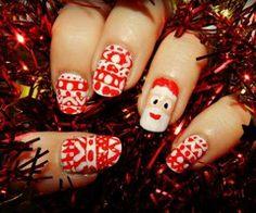 Christmas Nails ☃♥❆
