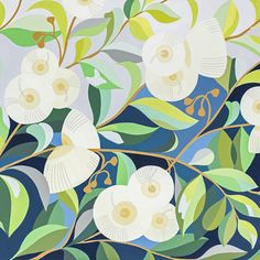 Painting Inspiration, Art Inspo, Gouache Painting, Floral Illustrations, Botanical Art, Art Images, Original Paintings, Abstract Art, Art Prints