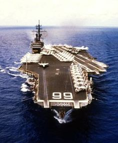 USS America CV-66...My 3rd and last ship.