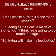 TFR's Writing Prompt 328