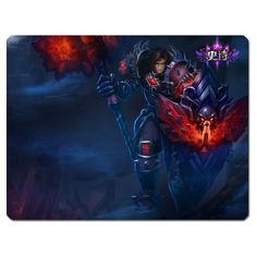 league of legends lol bloodstone taric mouse pad