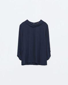 MAGLIA COLLO ALTO-Visualizza tutto-Camicie-Donna-COLLEZIONE SS16 | ZARA Italia