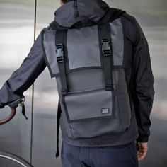The Sanction is a compact weatherproof rucksack designed to hold the daily essentials. Built to last a lifetime with waterproof fabrics and military spec. construction.