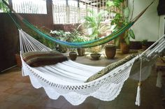 a nice sunday afternoon reading/napping in the hammock. has summer written all over it