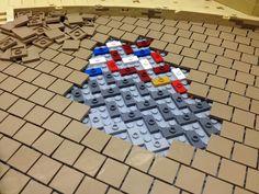 Behind the scene - Trend Photography Lego 2019 Lego Minecraft, Lego Moc, Lego Duplo, Minecraft Skins, Minecraft Buildings, Lego Technic, Lego Batman, Legos, Lego Poster