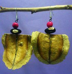 Pendientes jacaranda - artesanum com