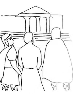 Coloring Page For Paul In Rome